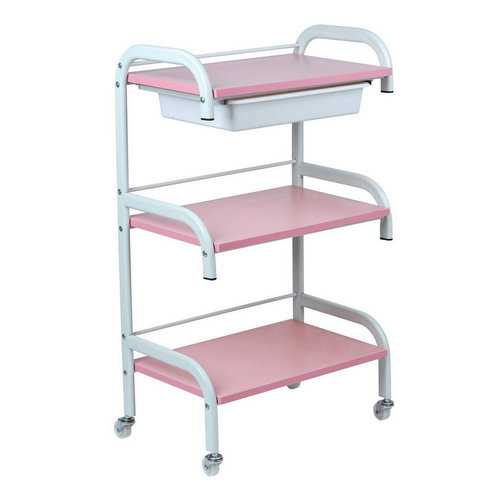 beauty salon rolling trolley cart, pedicure trolley beauty carts