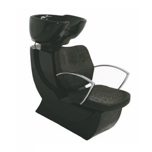 Professional salon shampoo chair / hair wash unit with bowl for head massage