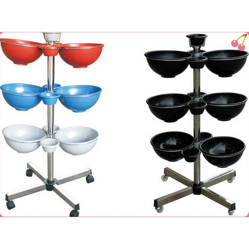cheap beauty salon trolley / tool cart perm / hair coloring trays