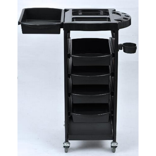 NEW Coloring Hair Salon Trolley 5 Tier Storage Rolling Cart