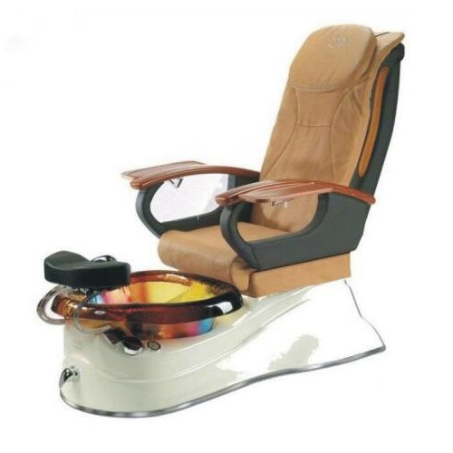 China supplier nail salon spa chairs luxury pipeless whirlpool foot pedicure chair