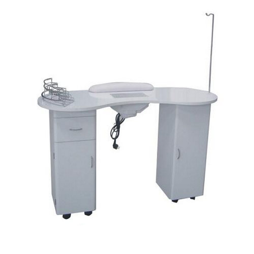 Made in china cheap nail art table vented nail table manicure table nail station