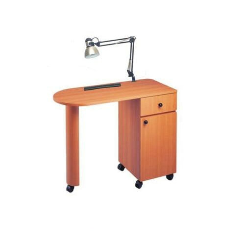 modern nail furniture manicure tables nail station with LED light