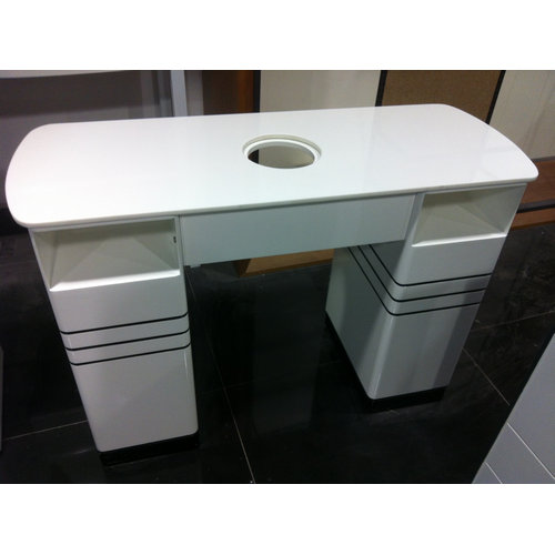 professional nail art station / manicure table with dust collector China salon manufacturers