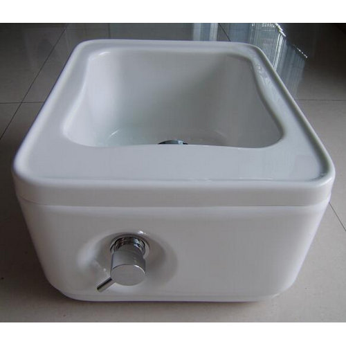 Professional pedicure foot tubs with small size mix water / foot spa  tub / mini spa equipment