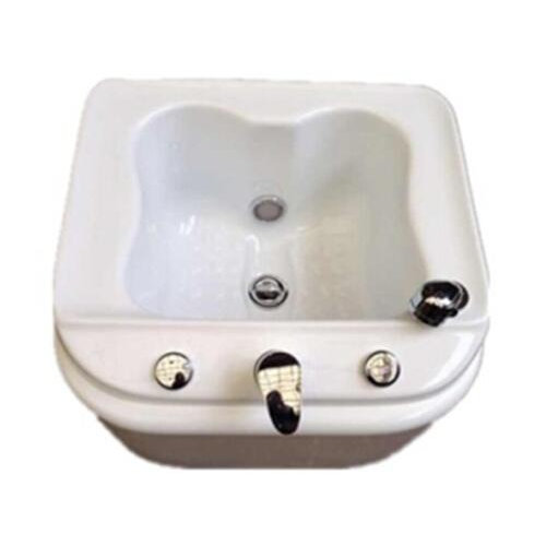 Nail Set--Portable Pedicure SPA MiNi Foot SPA Fiberglass Sink with LED / water massage