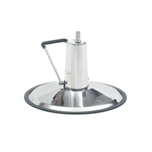 high quality round barber chair base / salon chair parts / barber accessories with hydraulic pump