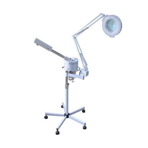 China Wholesaler HOT Sale Vertical Type LED Magnifying Lamp With Five Stars Base