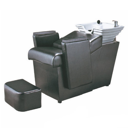 Comfortable beauty salon durable functional backwash shampoo units / shampoo bed / shampoo sink