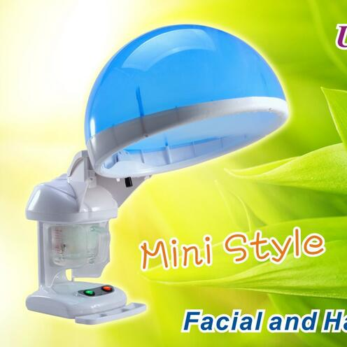Professional OZONE facial and top hair Steamer / home use or salon face & hair spa Steamer