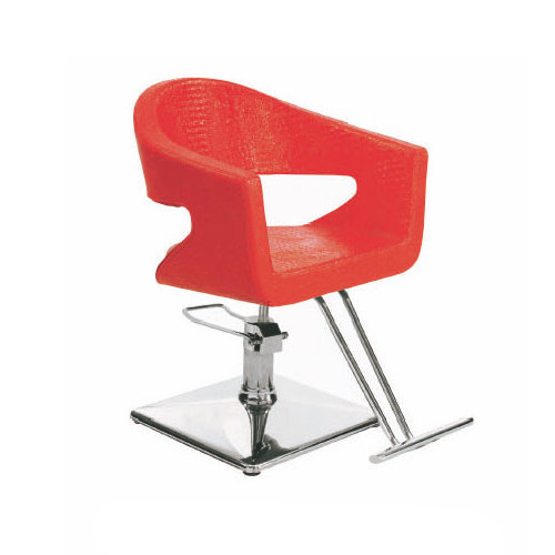 Modern barber styling chair / red hairdressing chair / hair salon equipment china