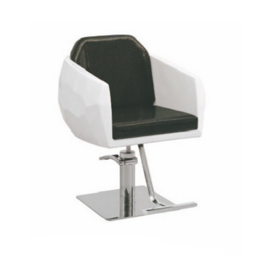 Woman's white barber chairs salon styling chair / antique furniture beauty salon