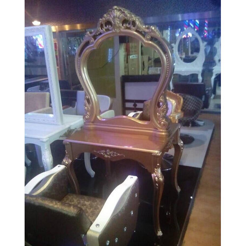 salon barber mirrors sale cheap table mirror station salon furniture,hair salon red wall metal mirror