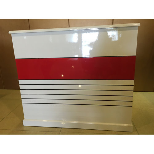 New style hair salon reception desks, white beauty reception desk china, reception counter table