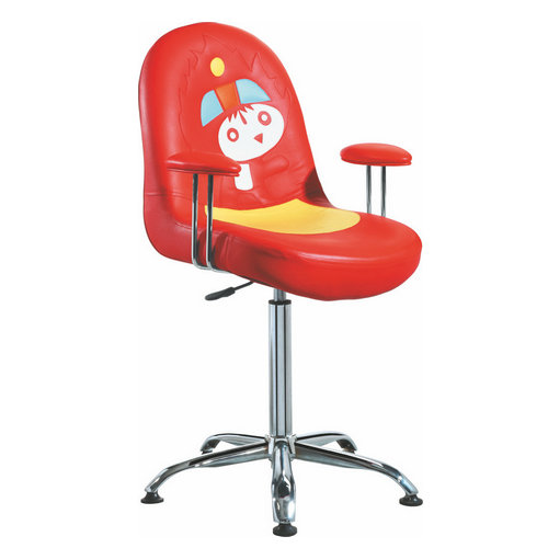 Low price Cartoon red children hair salon equipment kids chair children barber chairs