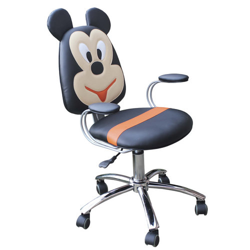 High Quality Kids Salon Equipment Barber Chair With Mickey Mouse For Baby Barber Chair Furniture