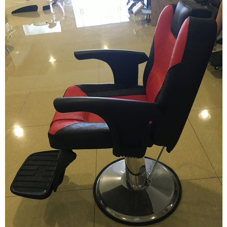 Chinese durable heavy duty barber chair for man reclining salon styling station