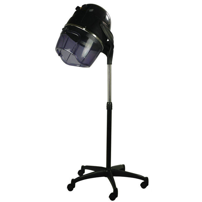 Portable salon furniture stand hooded cordless professional hair dryer