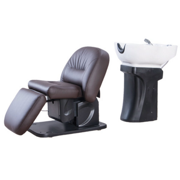 Luxury electric shampoo chair hair backwash equipment salon massage furniture