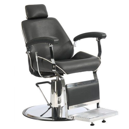 Cheap Heavy duty leather man salon styling chair vintage reclining hydraulic barber chairs
