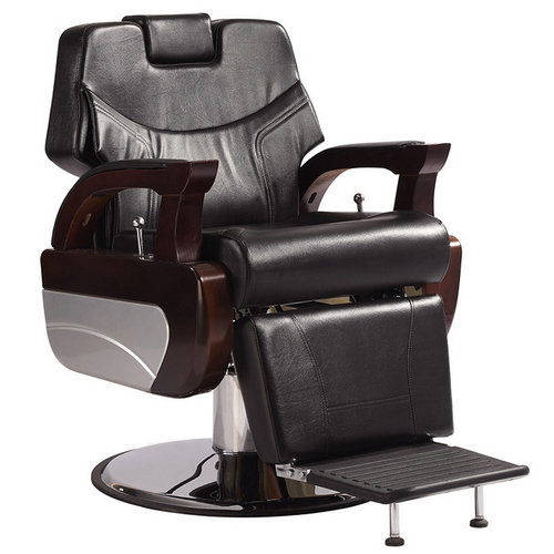 High back hydraulic men hairdressing seating classical Royal reclining barber chair