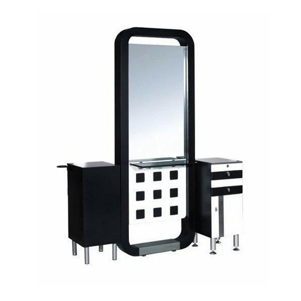Cheap Beauty Salon Mirror Styling Hairdressing Station