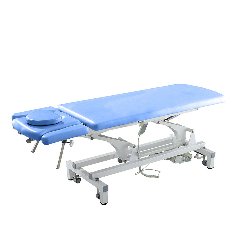 Clinic examination bed electric hospital physical therapy treatment table