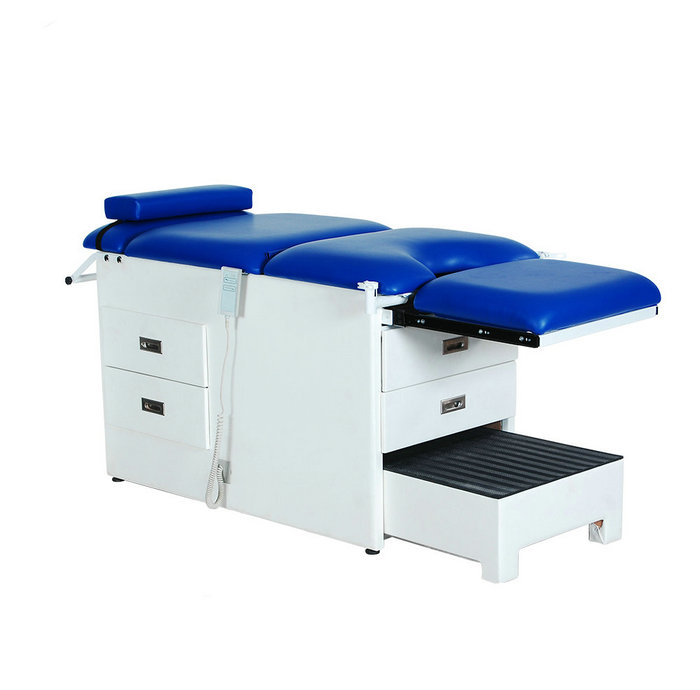 Hospital Treatment Physical Therapy Bed Electric Examination Table