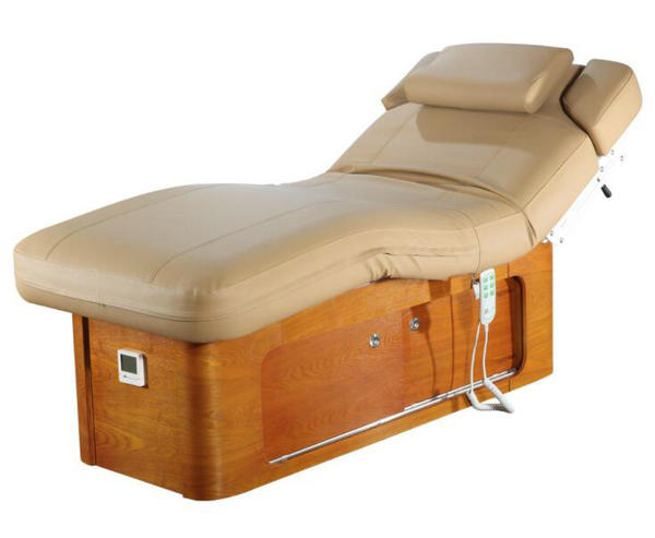 Luxury electric massage table facial bed spa equipment